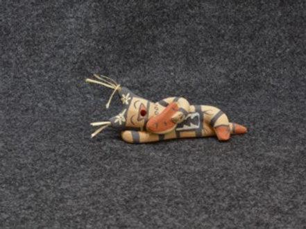 Koshare Figure - Me Toya - Jemez Pueblo