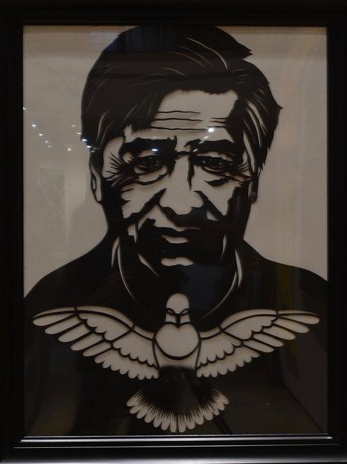 """""""Cesar Chavez"""" by Valerie Rangel"""
