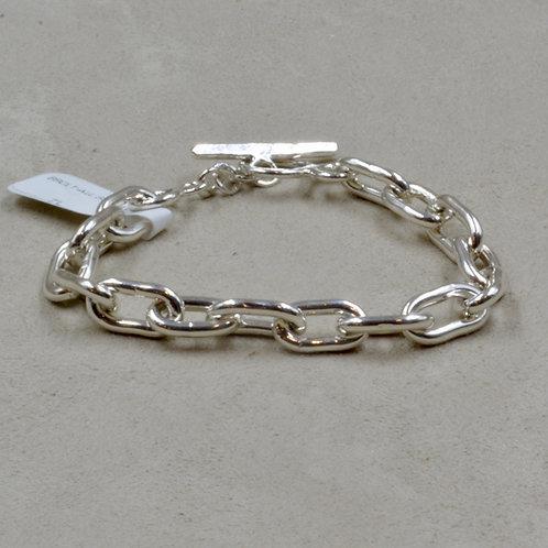 All Sterling Silver Small Link Bracelet by Robert Mac Eustace Jones