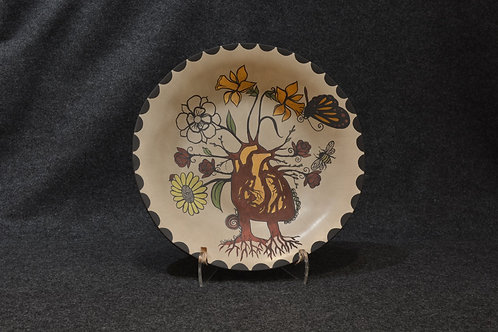 Collaborative Heart Plate by Jonathan Loretto & Valerie Rangel