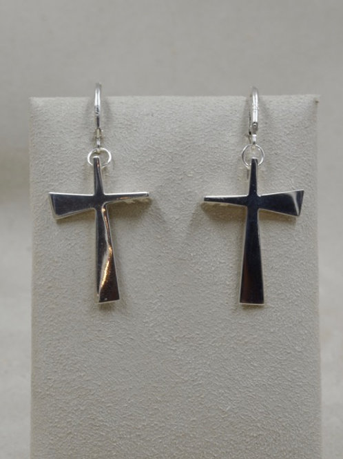 Sterling Silver Small Trinity Cross by Charles Sherman