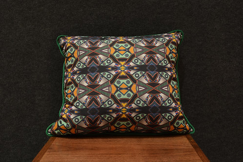 """Tinker Totem"" Art Pillow by Libby Chadd"