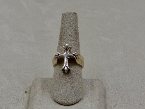 Ladies Sterling Silver Templar Cross 7.5x Ring by JL McKinney