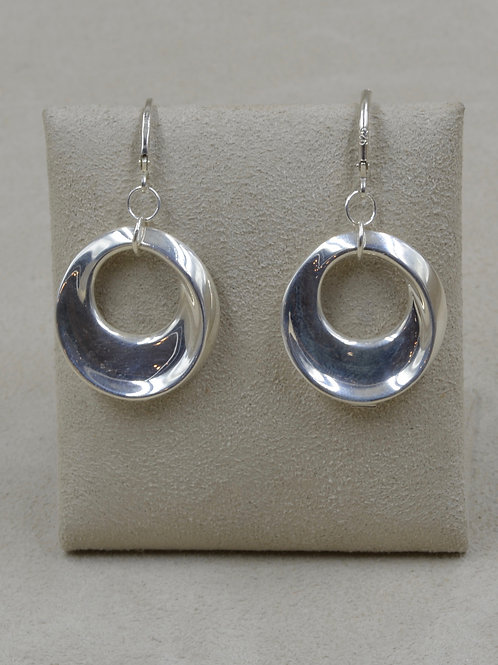 Sterling Silver Intro to Infinity Earrings by Charles Sherman