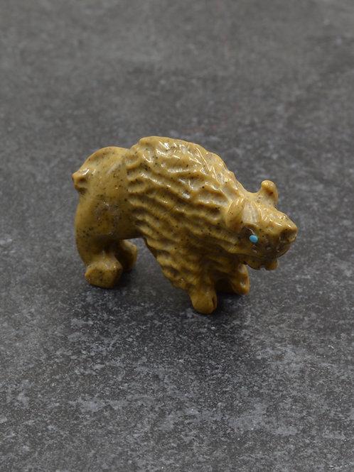 Buffalo Fetish - Stone - Zuni