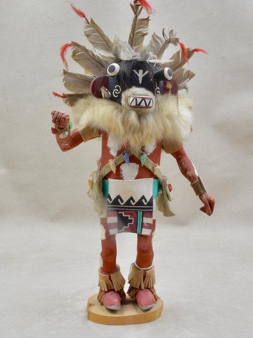 "Chaveyo Ogre, Hopi - 13"" x 3"""