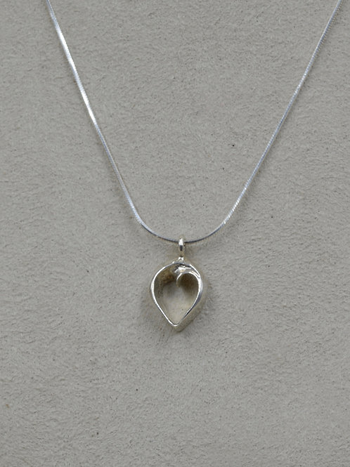 Heart of Infinite Love Petite w/ Chain Necklace by Charles Sherman