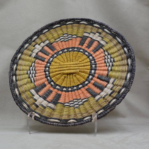 """Hopi Pueblo Wicker Basket #23 // 13"""" x 1 1/2"""""""
