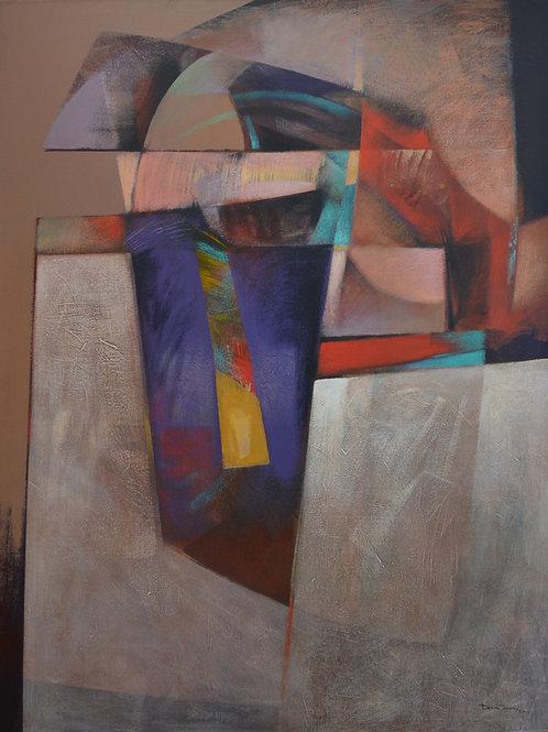 """""""Masked Spirit"""" 1984 by David Johns"""