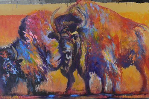 """Bison"" by Farrell Cockrum"