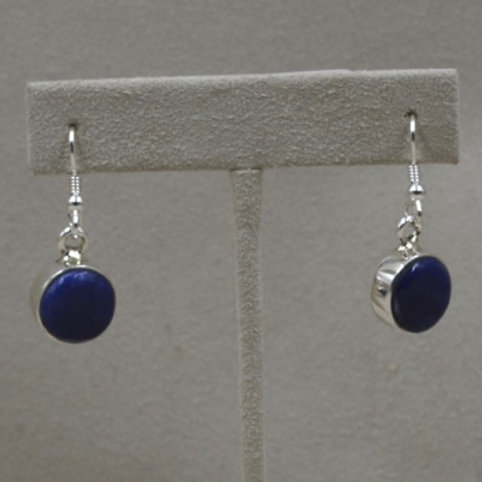 Sterling Silver Sodalite Earrings by Dukepoo