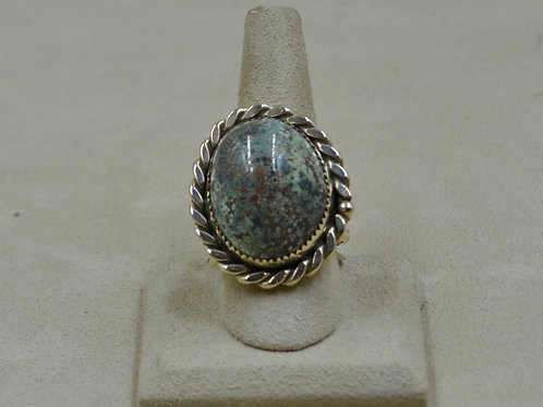 Candelaria Turquoise - Rare Pseudomorph - 11x Ring by James Saunders
