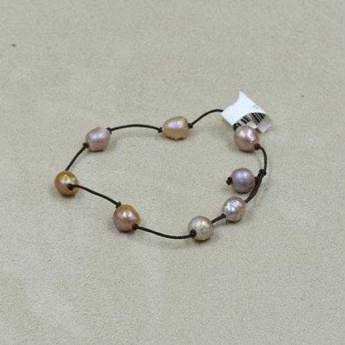 Rosebud Pearls Bracelet by US Pearl Co.