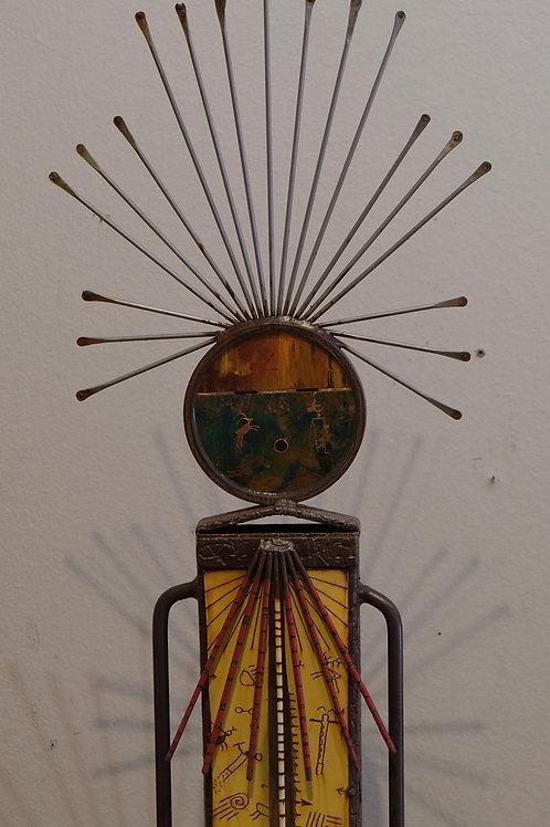 """Copper River"" Sculpture - 71"" x 12"" x 8"" by Chris Turri"