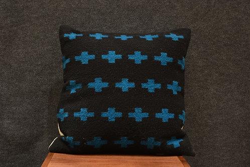 "Set of 2 Zapotec Cross Pillows - 22"" X 22"""