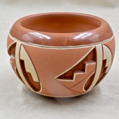 San Juan Pueblo Pot by Rosita De Herrera, 1994
