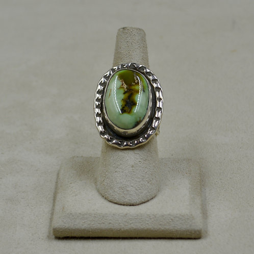 Wintergreen Verasite, Old Tiffany Mine - 7.5x Ring by James Saunders