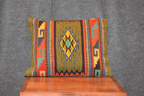 """Set of 2 Zapotec Pillows - 15"""" X 20"""""""