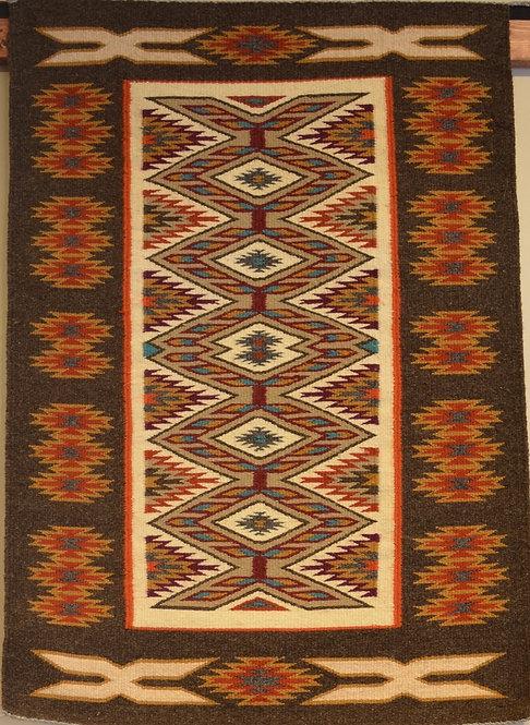 Genevieve Curtis Teec Nos Pos Navajo Weaving 40 Quot X 27
