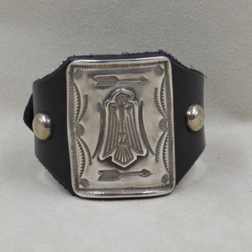 Katoh All Sterling Silver Thunderbird Cuff by Buffalo