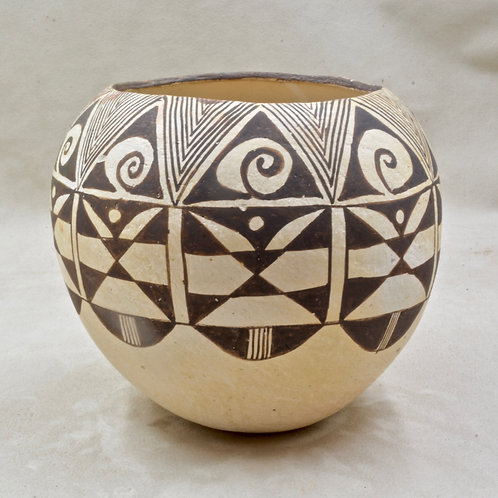Acoma Vase by M. Brown, 1978