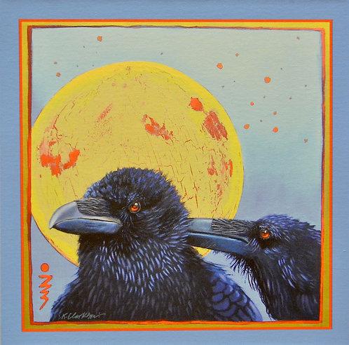 """Sharing Secrets"" Giclee on Canvas - 20"" x 20"" - by Karen Clarkson"