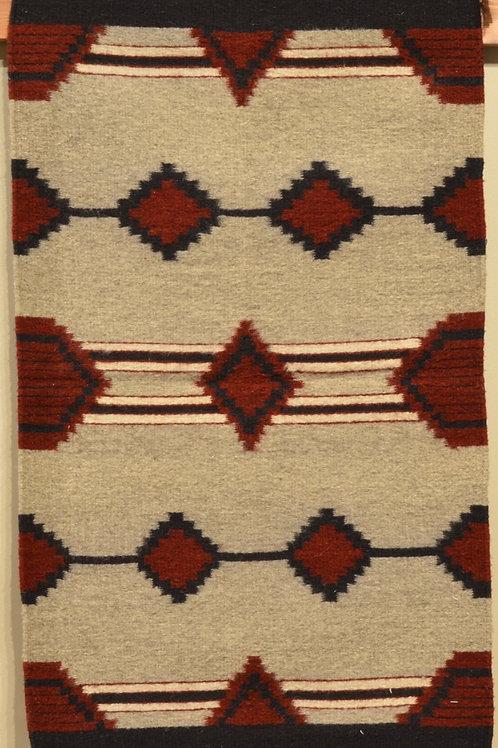 "Zapotec Panel Geometric -  Rug - 36"" X 24"""