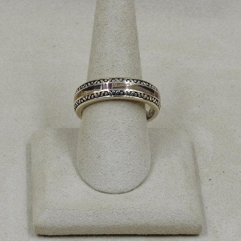 Jasper & Sterling Silver 12x Ring by GL Miller Studio