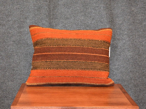 "Set of 2 Zapotec Stripes Pillows - 12"" X 16"""