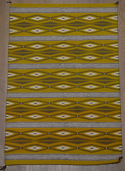 "Navajo Weaving - 78"" x 57 1/2"""