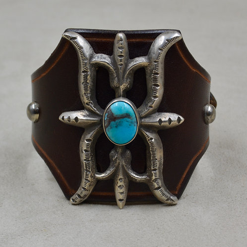 Ingot Butterfly Katoh w/ Natural Kingman Turquoise by Buffalo