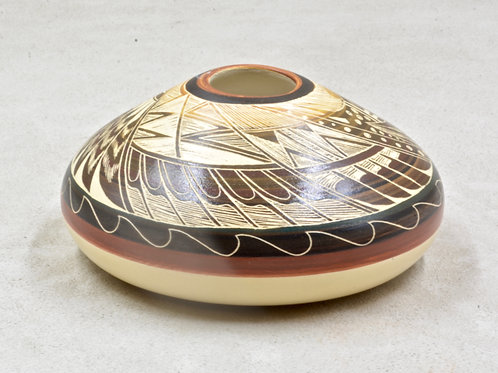 Jemez Pueblo Vase by Snow Bird/N. Tansing