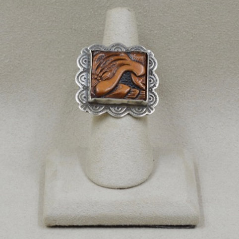 Sterling Silver Adjustable Ring by Shoofly 505