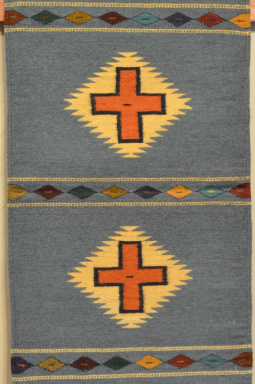 "Zapotec Crosses Rug - 36"" X 24"""