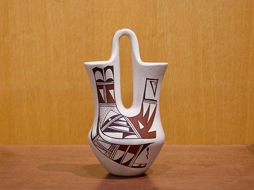 "Medium Hopi Wedding Vase -  8 1/2""H x 4 3/4""D - by Grace Navasie"