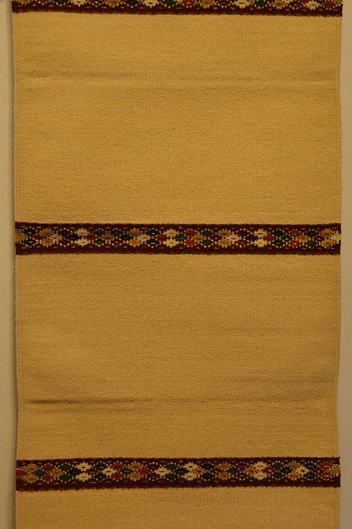 "Zapotec Tres Lines Rug - 30"" X 60"""
