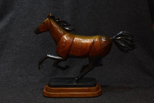 Freedom Horse by Joe Cajero, Jemez Pueblo
