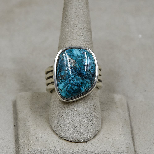 Natural Red Mountain Turquoise 11x Ring from True West