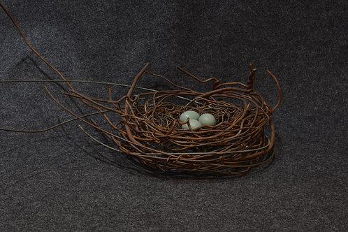 Handmade Metal Nest by Phil Lichtenhan