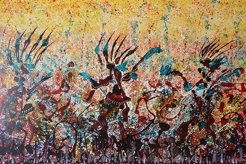 """Elemental Dance"" Giclee by Ken Bonner"