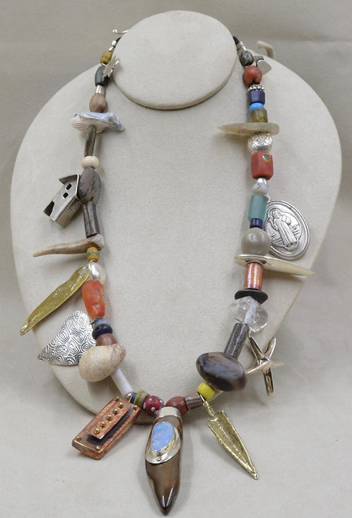 Kitchen Sink Necklace by Richard Lindsay