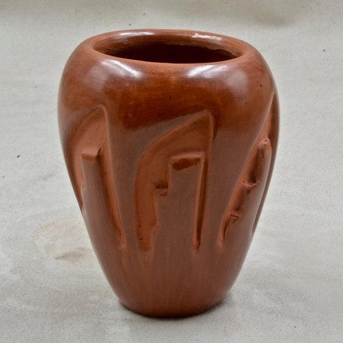 Santa Clara Vase by Laura Tafoya, 1981
