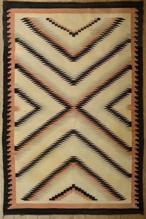 "Teec Nos Pos Navajo Weaving - 57"" x 38"""