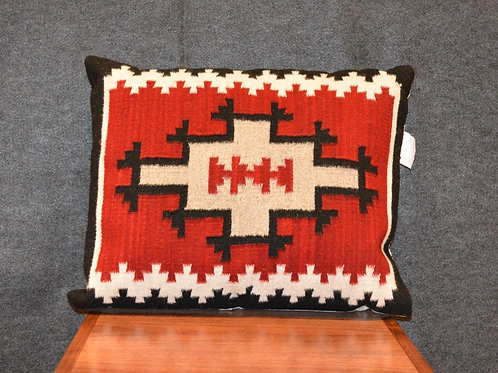 """Set of 2 Fino Navajo Style Red Pillows - 20"""" X 23"""""""