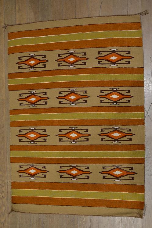 "Navajo Weaving 50"" x 35"""