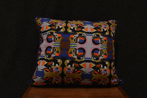 """""""Parallax View"""" Art Pillow by Libby Chadd"""