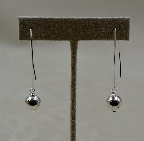 Long Sterling Silver Dangle Earrings by Sippecan Designs