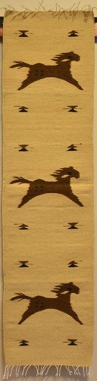 """Table Runner - Running Horses - 15"""" X 60"""""""