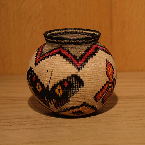 Butterfly Wounaan Basket