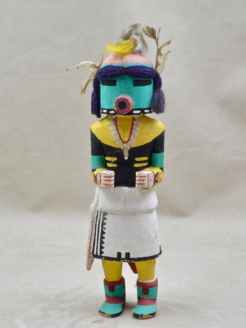 "Kahaila Hunter Kachina, Hopi - 9.5"" x 3"""